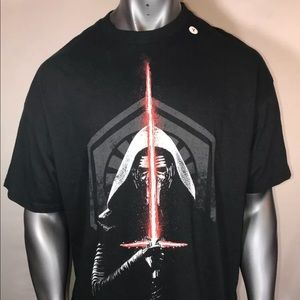 NEW STAR WARS Kylo Ren 2XL Tee the Force awakens